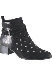 Bota Ankle Boot Ramarim Total Comfort