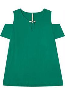 0a4adfa9e9 ... Blusa Verde Lunender Mais Mulher