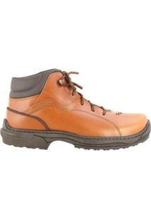 Coturno Country Hb - Agabê Boots - Solado De Borracha Masculino - Masculino-Laranja Claro