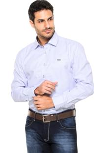 Camisa Mr. Kitsch Geométrica Roxa