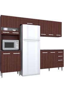 Cozinha Compacta 4 Peças Karina -Poquema - Capuccino
