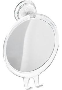 Espelho Anti Embaçante Com Suporte- Incolor & Espelhado