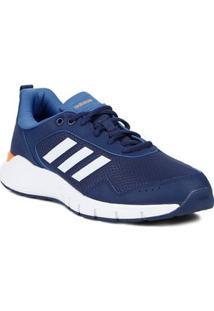 Tênis Esportivo Masculino Adidas Azul/Branco