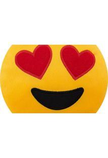 Almofada Capital Do Enxoval Emoji Apaixonado Estampado