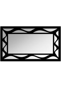 Espelho De Parede 12877P Preto 70X110 Art Shop
