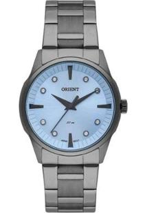 Relógio Feminino Orient Casual Fyss0001 A1Gx - Unissex-Chumbo