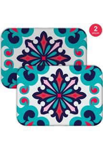 Jogo Americano Love Decor Mandala Color Azul