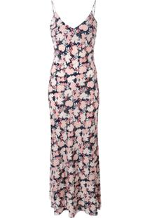 Gilda & Pearl Vestido Com Estampa 'Jardin' - Rosa