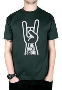 Camiseta 182Life The Rock Show Musgo