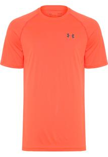 Camiseta Masculina Ua Tech Tee - Laranja