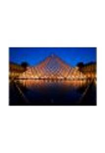 Painel Adesivo De Parede - Museu Do Louvre - Paris - 926Pnp