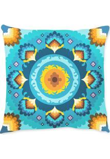 Capa De Almofada Renata Sader Berta Azul 45X45Cm - Azul - Dafiti