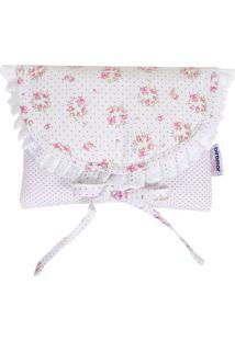 Bolsa Térmica Tiffany- Branca & Rosa Claro- 14X18X5Cbiramar