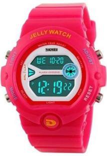 Relógio Skmei Digital Feminino - Feminino-Pink