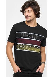 Camiseta Calvin Klein Berlim Masculina - Masculino