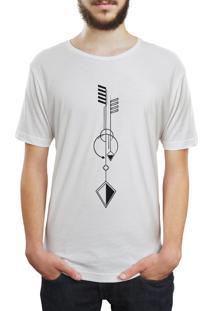 Camiseta Hunter Geometric Branca