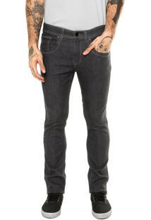 Calça Jeans Quiksilver Power Cinza
