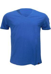 Camiseta Alma De Praia Gola V Flame -Gg - Masculino