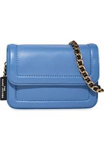 Marc Jacobs The Mini Cushion Bag - Azul