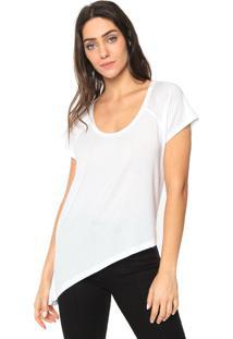 Camiseta Forum Assimétrica Branca