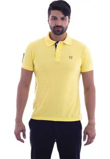65733afafed91 ... Camisa Polo Live Seven Amarelo 697-11 - Gg