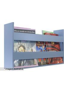 Porta Livros & Revistas- Azul Claro- 30X50X11Cmkapos