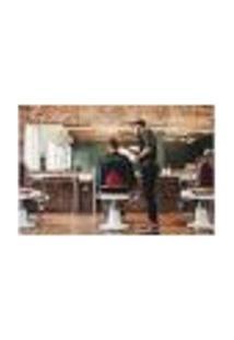 Painel Adesivo De Parede - Barbearia - Barber Shop - 1009Png