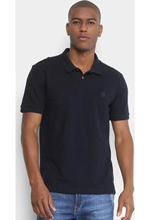 Camisa Polo Calvin Klein Gola Com Textura Masculina - Masculino