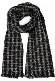 Lenço Amaro Longo Tweed Feminino - Feminino