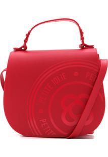 Bolsa Petite Jolie Monograma Vermelha