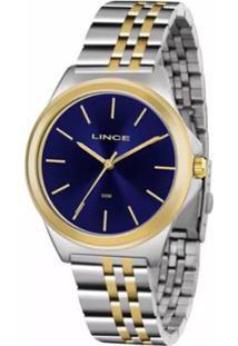 Relógio Feminino Lince Analógico Lrt4428L D1Sk - Unissex-Prata