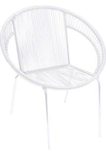 Cadeira Cancun- Branca- 79X73X43Cm- Or Designor Design