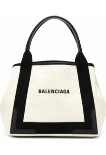 Balenciaga Bolsa Tote 'Cabas M' - Neutro