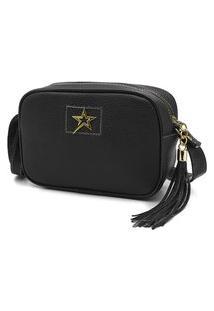 Bolsa Feminina Transversal Nexstar Mini Bag - Preto