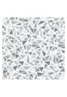 Papel De Parede Triangles Gray