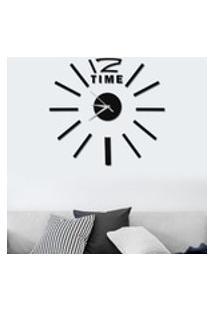 Adesivo De Relógio De Parede Durável De Design Autoadesivo, Material De Alta Qualidade Relógio De Parede Adesivo 3D Decoração De Relógio De Parede Par