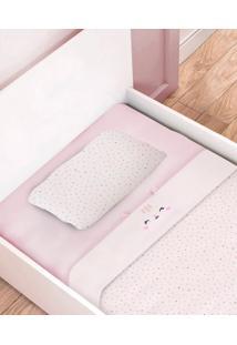 Jogo De Mini Cama 3Pçs Rosa - Papi Textil
