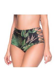 Calcinha Hot Pants Tiras Cruzadas Botonical Trends La Playa 2019