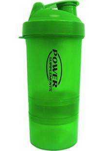 Coqueteleira Power 400Ml Verde Supplements Power Supplements