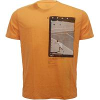 0b490148479e7 Camiseta Mormaii Aloha Melt - Masculino-Laranja