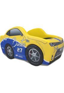 Cama Carro Chevy Cartoon Amarelo