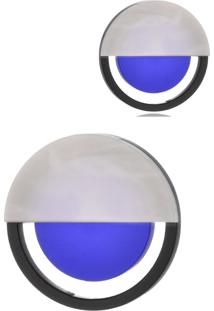 Brinco Le Diamond De A Mini Azul - Azul - Feminino - Dafiti