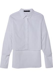 Camisa Mullet (Branco, Pp)
