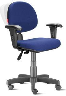 Cadeira Ergonômica Nr17 Executiva Crepe Azul Noturno