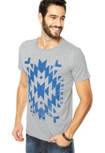Camiseta Fiveblu Tribes Cinza