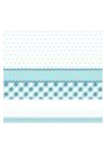 Adesivo De Parede Faixa Decorativa Azul 20Mx10Cm
