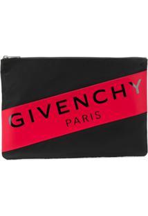 Givenchy Carteira Com Logo - Preto