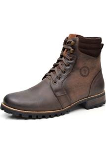 Bota Liferock Lr11021-2 Cafe