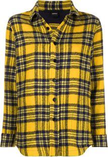 d7d8e656fb Aspesi Camisa Xadrez - Amarelo