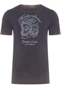 Camiseta Masculina True Riders - Preto